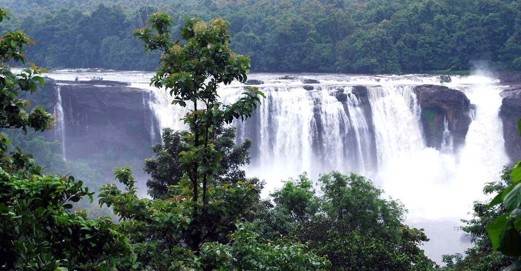 Almost all these scintillating cascades are the venues for picnics and
