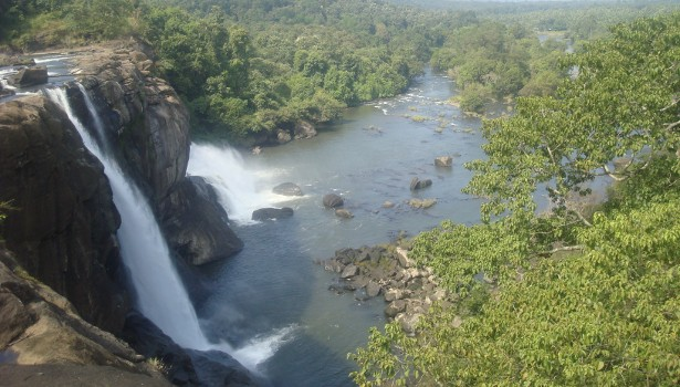 vazhachal waterfalls, athirappally waterfalls, charpa waterfalls