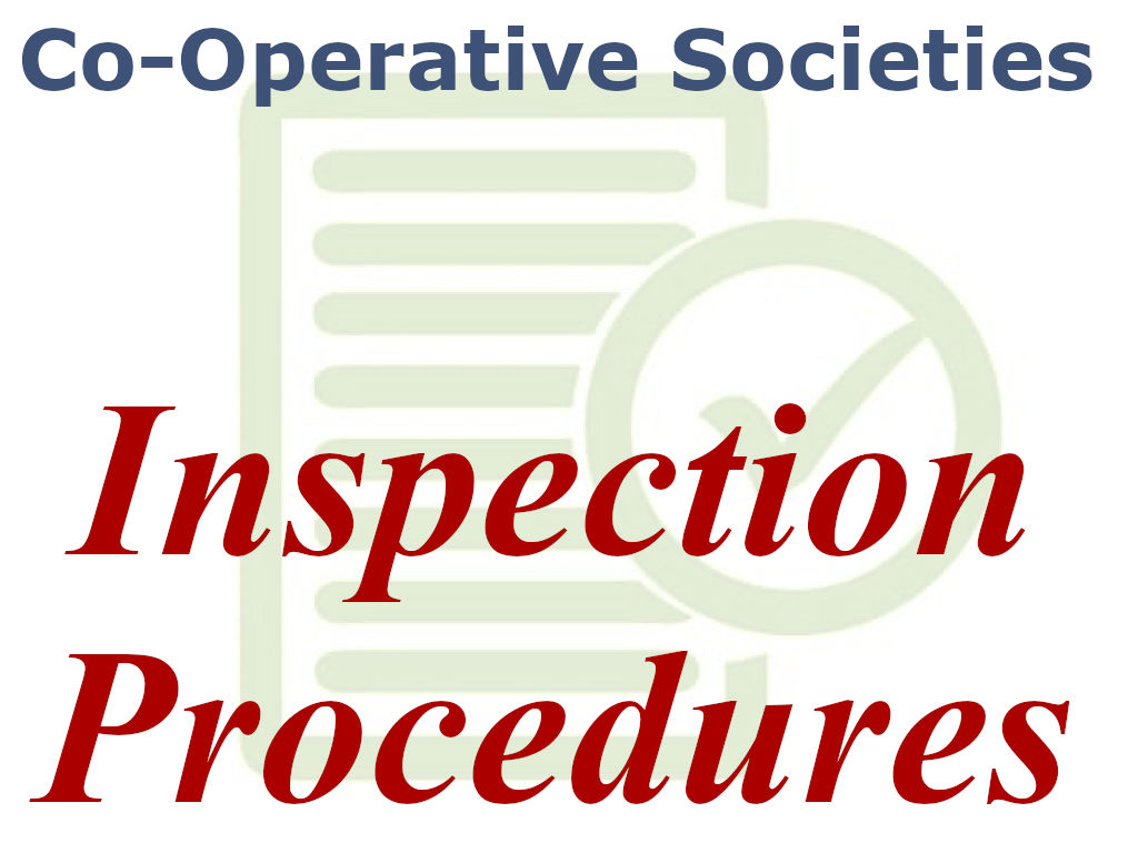 Procedure to Inspect a Cooperative Society in Kerala