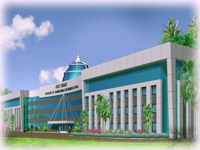 Holy Grace Engineering college for women, Mala, Trichur, Kerala
