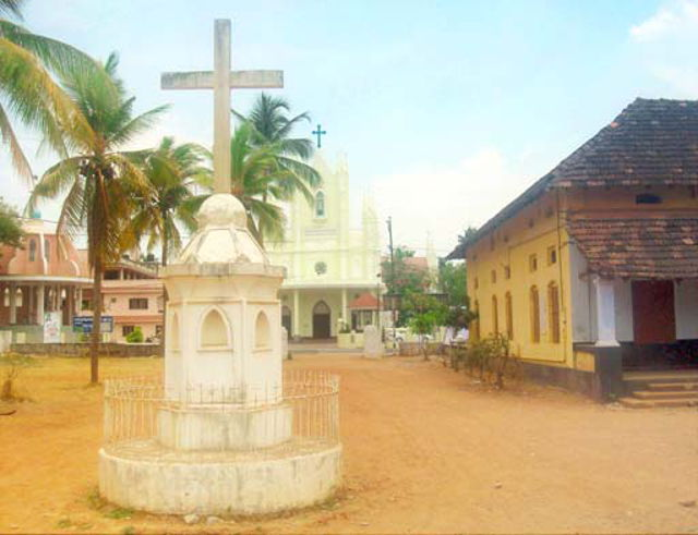 Mala St. Stanislaus Forane Church and Holy cross at St. Antony's School Mala Thrissur