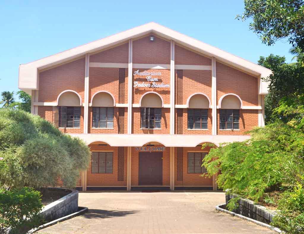 Image of Auditorium at Carmel College for Women Mala Thrissur Kerala