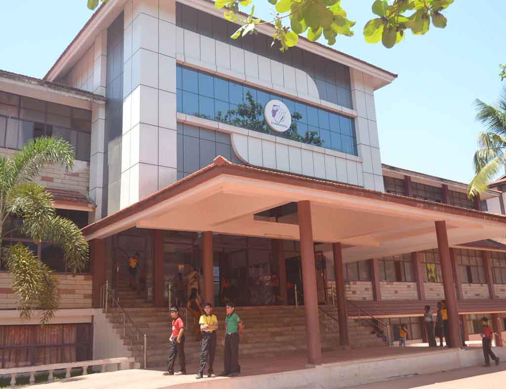 Holy Grace Academy Mala Kerala CBSE School Main Building