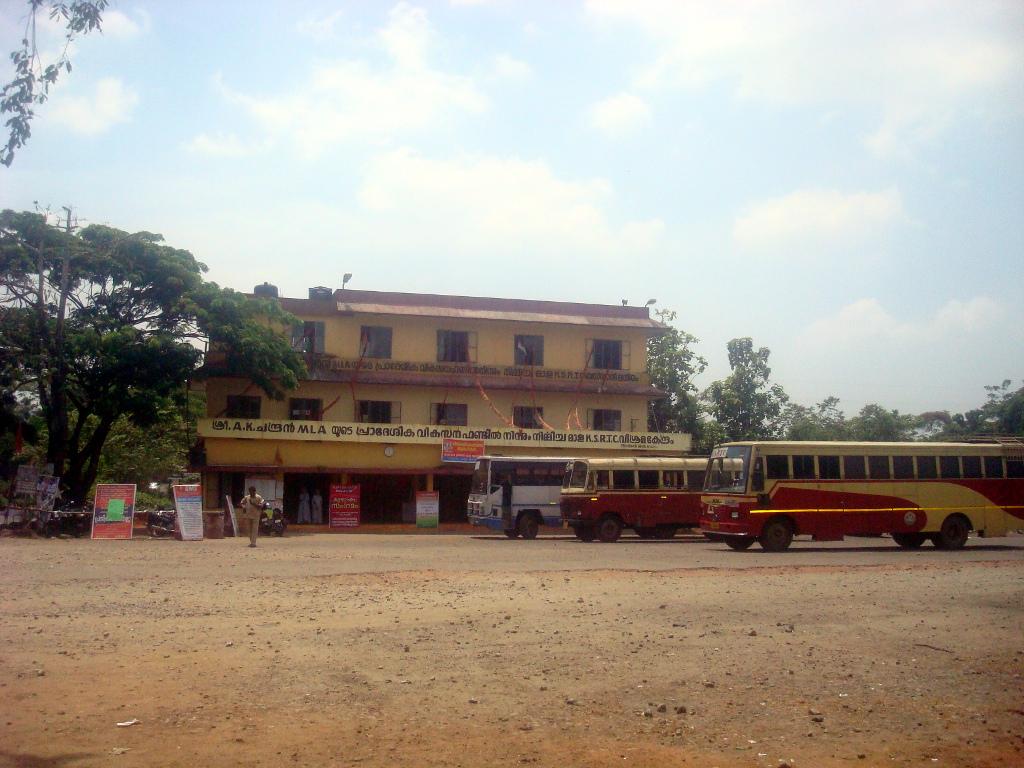 Mala KSRTC Bus Stand cum Depot