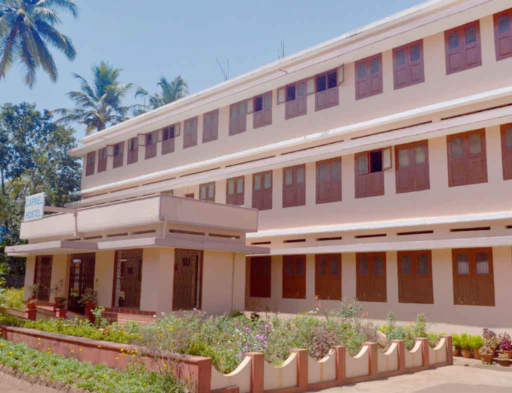 Image of Mala Carmel College Hostel Building
