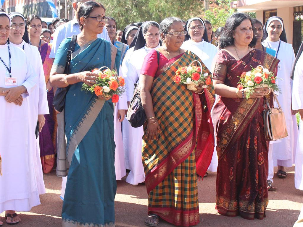 National Assessment and Accreditations Council (NAAC) Peer Team from UGC visited Mala Carmel College