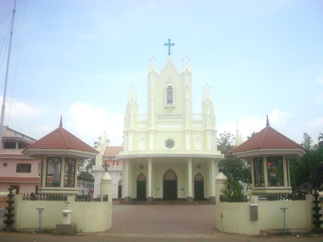 Mala St. Stanislaus Forane Church Mala Thrissur