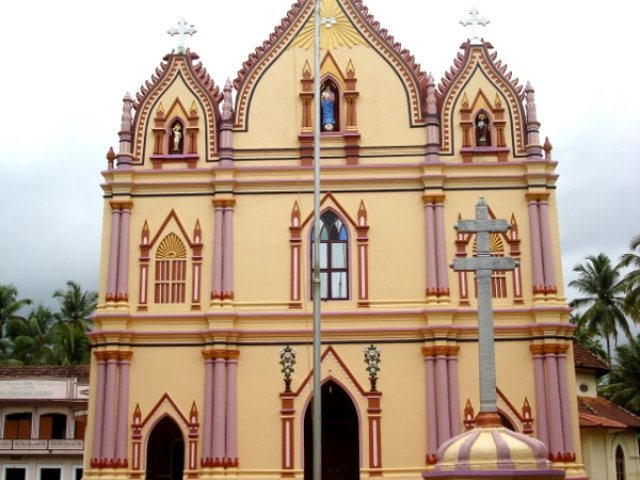 St. Mary;s Church, Puthenchira, Thrissur Kerala
