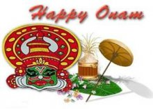Happy Onam Mala Thrissur