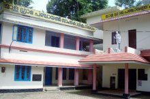 Mala Thrissur at a Glance - Image of Mala Grama Panchayat Building
