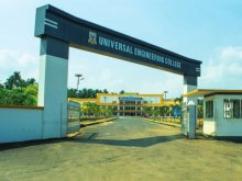 Universal Engineering College, Near Mathilakam, Vallivattom P.O., Thrissur